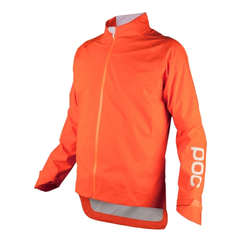 POC_AVIP Rain Jacket_Zink Orange