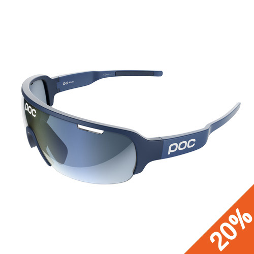 POC_17 DO Half Blade_Cubane Blue + Clear 90.0