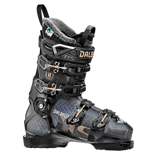 19/20 DALBELLO DS 110 W BLACK/TRANS/BLACK
