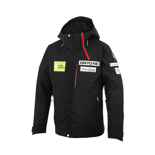 ONYONE FAE BONDING JACKET ONJ92A41 BLACK
