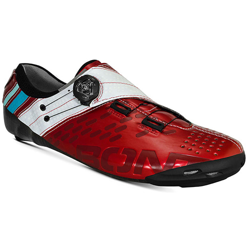 BONT HELIX SHINY RED WHITE