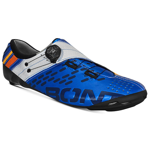 BONT HELIX METALLIC BLUE WHITE