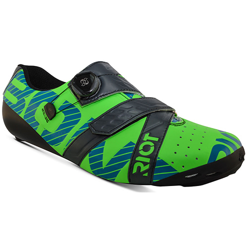 BONT RIOT+ TOTALLY LIME CHARCOAL