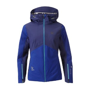 1920 HALTI SAARUA W JACKET ONJ92090 SURF THE WEB BLUE
