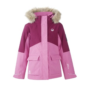 1920 HALTI LILLAN JUNIOR JACKET ONS92522 SUPER PINK