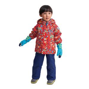 ONYONE TODDLER SUIT RES52004 REDxNVY