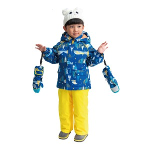 ONYONE TODDLER SUIT RES52004 BLUxYEL