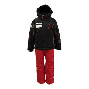 ONYONE JUNIOR SUIT ONJ72520 BLACKxRED